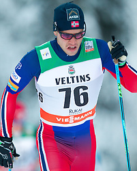 30.11.2014, Nordic Arena, Ruka, FIN, FIS Weltcup Langlauf, Kuusamo, 15 km Herren, im Bild Paal Golberg (NOR) // Paal Golberg of Norway during Mens 15 km Cross Country Race of FIS Nordic Combined World Cup at the Nordic Arena in Ruka, Finland on 2014/11/30. EXPA Pictures © 2014, PhotoCredit: EXPA/ JFK