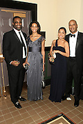 January 21, 2013-Washington, DC- (L-R) Tom Reynolds, BET, Jill Johnson, Rebecca Wallace and Mark Wallace attend the BET Inaugural Ball held at the Smithsonian National Art Museum and National Portrait Gallery on January 21, 2013 in Washinton, D.C. The 57th Presidential Inauguration celebrates the beginning of the second term of President Barack H. Obama. (Terrence Jennings)