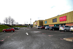 "Livingston During Coronavirus Outbreak, 21 March 2020<br /> <br /> Cafes, pubs and restaurants have been ordered to close, to tackle coronavirus. Nightclubs, theatres, cinemas, gyms and leisure centres must do so ""as soon as they reasonably can"", the government said.<br /> <br /> These steps are part of the UK's social distancing measures.<br /> <br /> Everybody is being asked to avoid non-essential contact with other people.<br /> <br /> Pictured: Livingston's McArthur Glen shopping Centre car park was virtually deserted on a Saturday where parking is normally at a premium<br /> <br /> Alex Todd 
