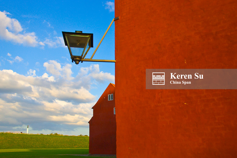 Kastellet, The Citadel, an exceptionall well prserved fortress, Copenhagen, Denmark