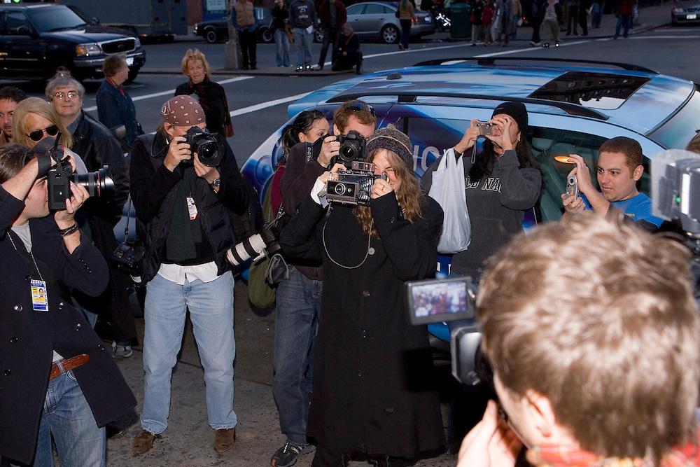 Patti Smith at Closing night of CBGB's club in NYC