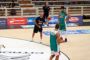 Ettore Messina<br /> Raduno Nazionale Maschile Senior<br /> Allenamento Mattutino Trentino Basket CUP<br /> Trento 29/07/2017<br /> Foto Ciamillo-Castoria/ A.Gilardi