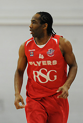 Bristol Flyers' Chris Bourne - Photo mandatory by-line: Dougie Allward/JMP - Mobile: 07966 386802 - 28/03/2015 - SPORT - Basketball - Bristol - SGS Wise Campus - Bristol Flyers v London Lions - British Basketball League