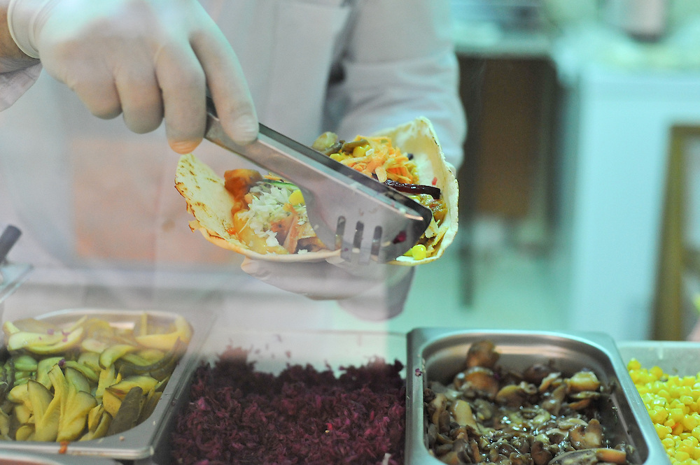 Török fast-food Kolozsvár belvárosában.