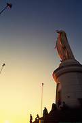 Statue of Virgin Mary, Cerro San Cristobal, Santiago, Chile<br />