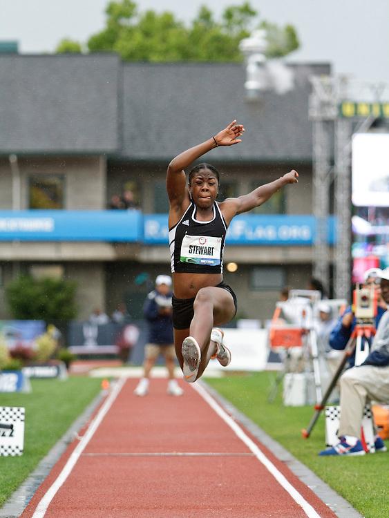 Women's Triple Jump, Tracey Stewart