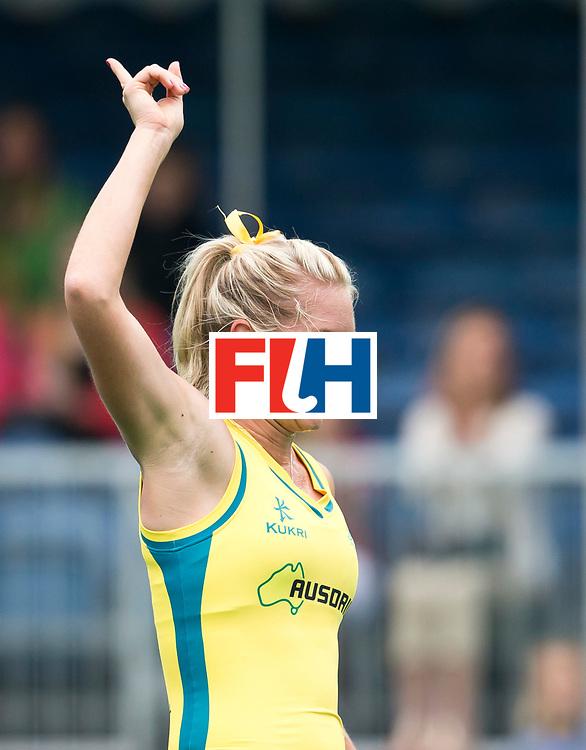 21/06/2015<br /> HWL Semi Final Antwerp Belgium 2015<br /> Australia v Poland Women<br /> Jodie Kenny<br /> Photo: Grant Treeby