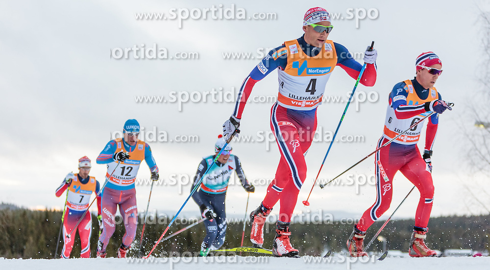 05.12.2015, Nordic Arena, NOR, FIS Weltcup Langlauf, Lillehammer, Herren, im Bild Niklas Dyrhaug (NOR) // Niklas Dyrhaug of Norway during Mens Cross Country Competition of FIS Cross Country World Cup at the Nordic Arena, Lillehammer, Norway on 2015/12/05. EXPA Pictures © 2015, PhotoCredit: EXPA/ JFK