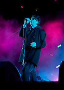 Ian McCullough of the band Echo and the Bunnymen performs at the 2010 Coachella Music Festival in Indio, CA on Friday, April 16, 2010.