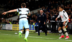 An animated Queens Park Rangers manager Ian Holloway looks angry - Mandatory by-line: Robbie Stephenson/JMP - 31/03/2017 - FOOTBALL - iPro Stadium - Derby, England - Derby County v Queens Park Rangers - Sky Bet Championship