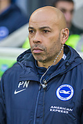 Paul Nevin, First Team Coach of Brighton & Hove Albion FC during the FA Cup fourth round match between Brighton and Hove Albion and West Bromwich Albion at the American Express Community Stadium, Brighton and Hove, England on 26 January 2019.