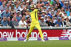 June 13, 2018 - London, England, United Kingdom - Kane Richardson of Australia.during One Day International Series match between England and Australia at Kia Oval Ground, London, England on 13 June 2018. (Credit Image: © Kieran Galvin/NurPhoto via ZUMA Press)