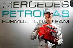 Motorsports / Formula 1: World Championship 2010, GP of Brasil, 03 Michael Schumacher (GER, Mercedes GP Petronas),   03 Michael Schumacher (GER, Mercedes GP Petronas),
