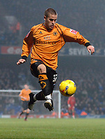 Photo: Ashley Pickering.<br /> Ipswich Town v Wolverhampton Wanderers. Coca Cola Championship. 20/02/2007.<br /> Michael Kightly of Wolves
