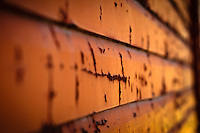 I had a photo session at The Ranche in Fish Creek Park. I arrived early and took advantage of that and explored the area to make some detail images. The textures of the peeling paint on some of the fence boards and the walls of the barns are very cool!..©2010, Sean Phillips.http://www.RiverwoodPhotography.com