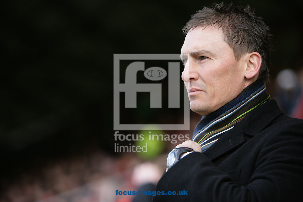 London - Saturday, March 14th, 2009: Brentford manager Andy Scott during the Coca Cola League Two match at Griffin Park, London. (Pic by Mark Chapman/Focus Images)