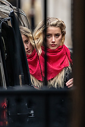 © Licensed to London News Pictures. 23/07/2020. London, UK. American actress AMBER HEARD arrives at the High Court in London, where Johnny Depp is in a legal dispute with UK tabloid newspaper The Sun over allegations he assaulted his former wife, Amber Heard. Photo credit: Vudi Xhymshiti/LNP