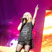 RaeLynn performing on the Miranda Lambert Platinum Tour at Peoria Civic Center, Peoria, Illinois, February 21, 2015. Photo: George Strohl