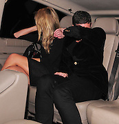 20.AUGUST.2009 - LONDON<br /> <br /> DAVE GARDNER WHO LOOKS LIKE HE HAS GOT OVER HIS SPLIT FROM EX-WIFE DAVINA TAYLOR LEAVING BEACH BLANKET BABYLON CLUB IN NOTTING HILL AFTER CELEBRATING KIMBERLEY STEWART'S 30TH BIRTHDAY DAVE LOOKED VERY COSY WITH A MYSTERY BLONDE LADY AS HE LEFT THE CLUB AND THEN KIMBERLEY, DAVE AND THE GIRL WENT ONTO ELECTRIC BALLROOM WHERE THEY STAYED FOR 20 MINUTES AND DAVE AND THE GIRL TRIED TO GET OUT THE SIDE EXIT OF THE CLUB AND SNEAK INTO A CAR BEFORE TRYING TO HIDE HIS FACE.<br /> <br /> BYLINE: EDBIMAGEARCHIVE.COM<br /> <br /> *THIS IMAGE IS STRICTLY FOR UK NEWSPAPERS & MAGAZINES ONLY*<br /> *FOR WORLDWIDE SALES & WEB USE PLEASE CONTACT EDBIMAGEARCHIVE - 0208 954 5968*