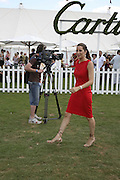 Princess Tamara Czartorski Borbon, Cartier International Polo. Guards Polo Club. Windsor Great Park. 30 July 2006. ONE TIME USE ONLY - DO NOT ARCHIVE  © Copyright Photograph by Dafydd Jones 66 Stockwell Park Rd. London SW9 0DA Tel 020 7733 0108 www.dafjones.com
