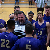 Kirtland Central's head coach Brian Dowdy