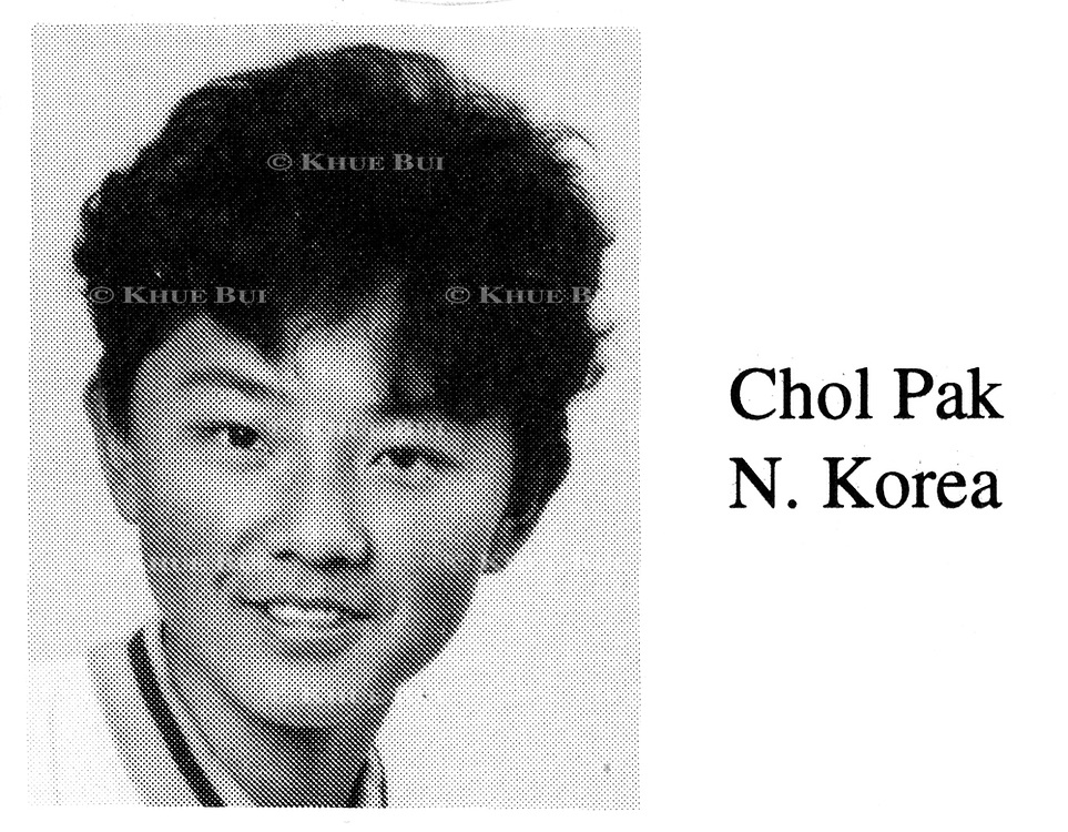 Chol Pak is shown in his fifth grade class photo in the International School of Berne in Switzerland yearbook photo, Odyssey 1994.  According to the yearbook, Chol is remembered as 'tall and strong'.  Chol, whose real name is Kim Jong-chol, is the middle son of Kim Jong-il, leader of North Korea.