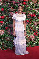 Jade Anouka, 64th Evening Standard Theatre Awards, Theatre Royal Drury Lane, London UK, 18 November 2018, Photo by Richard Goldschmidt