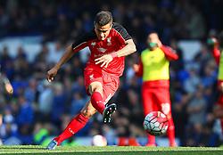 Philippe Coutinho of Liverpool warms up - Mandatory byline: Matt McNulty/JMP - 07966 386802 - 04/10/2015 - FOOTBALL - Goodison Park - Liverpool, England - Everton  v Liverpool - Barclays Premier League