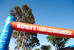 The start arch for Stage 2 of 2020 Santos Women's Tour Down Under, a 114.9 km road race from Murray Bridge to Birdwood, Australia on January 17, 2020. Photo by Sean Robinson/velofocus.com