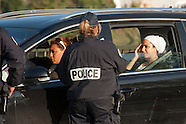 French Police Controlling Borders