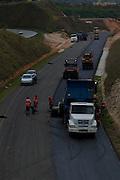 Betim_MG, Brasil.<br /> <br /> Obras do novo anel viario proximo a rodovia BR381 em Betim, Minas Gerais.<br /> <br /> Construction of the new ring road near the BR381 highway in Betim, Minas Gerais.<br /> <br /> Foto: MARCUS DESIMONI / NITRO