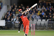 Lancashire Lightnings Glenn Maxwell  during the Vitality T20 Blast North Group match between Lancashire Lightning and Leicestershire Foxes at the Emirates, Old Trafford, Manchester, United Kingdom on 30 August 2019.