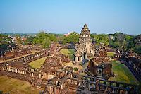province de Nakhon Ratchasima, parc historique de Phimai, // Thailand, Ratchasima province, Phimai Khmer temple