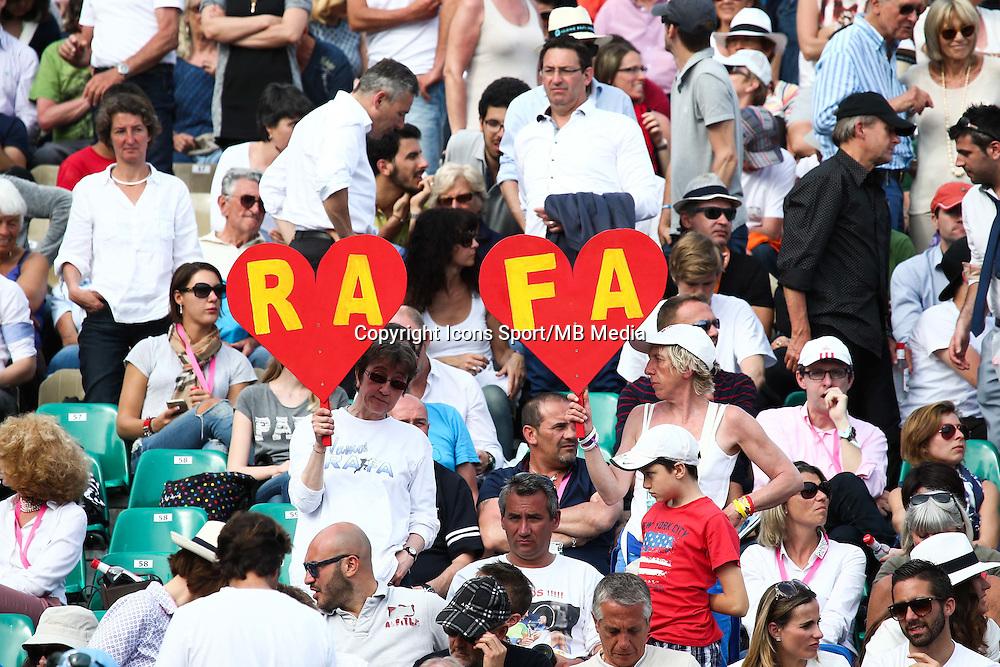 Supporters Rafael Nadal - 17.04.2015 - Tournoi de Monte Carlo 2015 - Masters 1000 <br />Photo : Serge Haouzi / Icon Sport