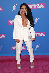 August 21, 2018 - New York City, New York, USA - 8/20/18.Angelina Pivarnick at the 2018 MTV Video Music Awards held at Radio City Music Hall in New York City..(NYC) (Credit Image: © Starmax/Newscom via ZUMA Press)