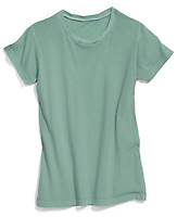 faded sea green t-shirt
