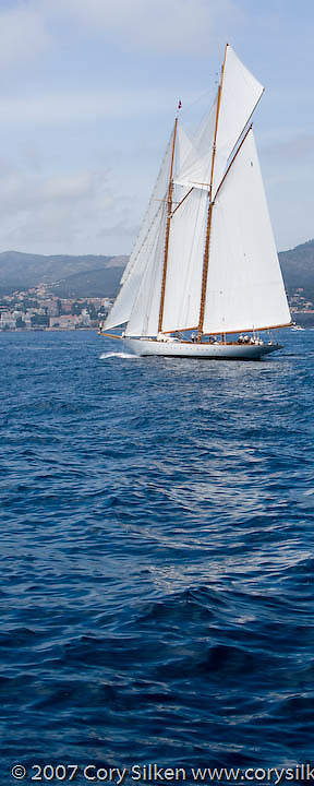 Eleonora racing at The Superyacht Cup