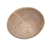 A Mandaic Incantation Bowl with a protective inscription 5-6th century CE