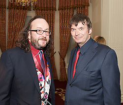 (LtoR) Dave Myers with Ian Rankin during the Specsavers National Book Awards 2012, Central London, Great Britain, December 4, 2012. Photo by Elliott Franks / i-Images.