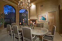 Luxurious dining room