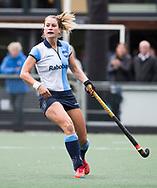 AMSTELVEEN -  Margot Zuidhof (Hurley)  .Hoofdklasse competitie dames, Hurley-HDM (2-0) . FOTO KOEN SUYK