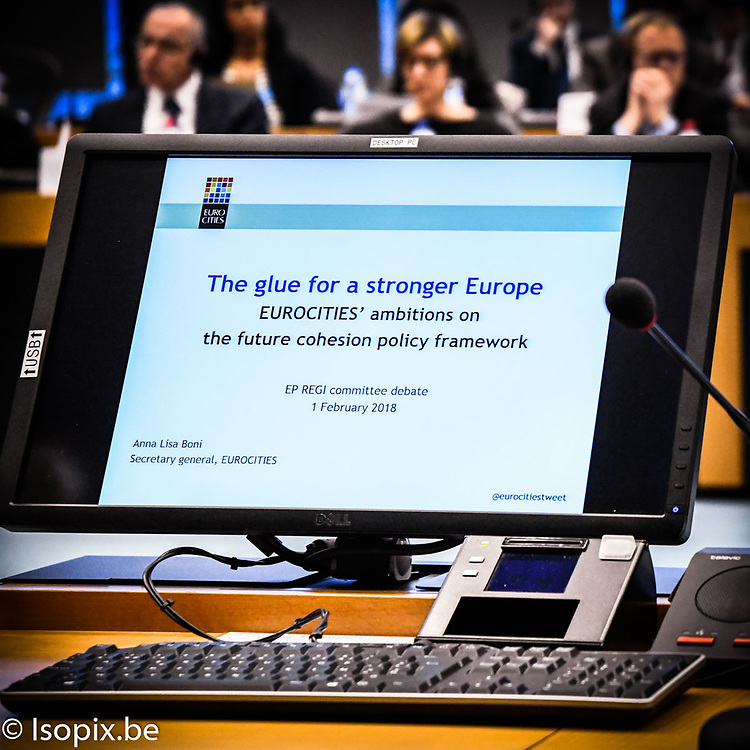 REGI extraordinary meeting on ' The Future of Cohesion policy after 2020 '