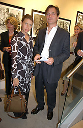 MR DANIEL & LADY SARAH CHATTO at an exhibition of photographs by Lord Snowdon held at the Chris Beetles Gallery, Ryder Street, London on 18th September 2006.<br />