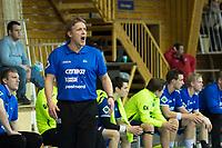 Håndball<br /> 25. Februar 2015<br /> Gildeligaen<br /> Framohallen<br /> FyllingenBergen - Drammen<br /> Rene Hamann Boeriths , trener Drammen<br /> Foto Astrid M. Nordhaug