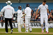Sri Lanka Kusal Mendis gets his maiden test 50 half century during day 3 of the first Investec Test Series 2016 match between England and Sri Lanka at Headingly Stadium, Leeds, United Kingdom on 21 May 2016. Photo by Simon Davies.