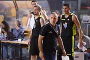 DESCRIZIONE : Roma Serie A2 2015-16 Acea Virtus Roma Benacquista Assicurazioni Latina<br /> GIOCATORE : Guido Saibene<br /> CATEGORIA : coach allenatore delusione<br /> SQUADRA : Acea Virtus Roma<br /> EVENTO : Campionato Serie A2 2015-2016<br /> GARA : Acea Virtus Roma Benacquista Assicurazioni Latina<br /> DATA : 27/09/2015<br /> SPORT : Pallacanestro <br /> AUTORE : Agenzia Ciamillo-Castoria/G.Masi<br /> Galleria : Serie A2 2015-2016<br /> Fotonotizia : Roma Serie A2 2015-16 Acea Virtus Roma Benacquista Assicurazioni Latina