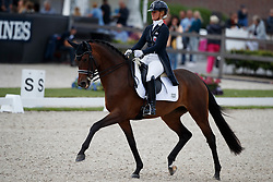 Moller Kristine, LUX, Standing O Vantion<br /> Longines FEI/WBFSH World Breeding Dressage Championships for Young Horses - Ermelo 2017<br /> © Hippo Foto - Dirk Caremans<br /> 03/08/2017