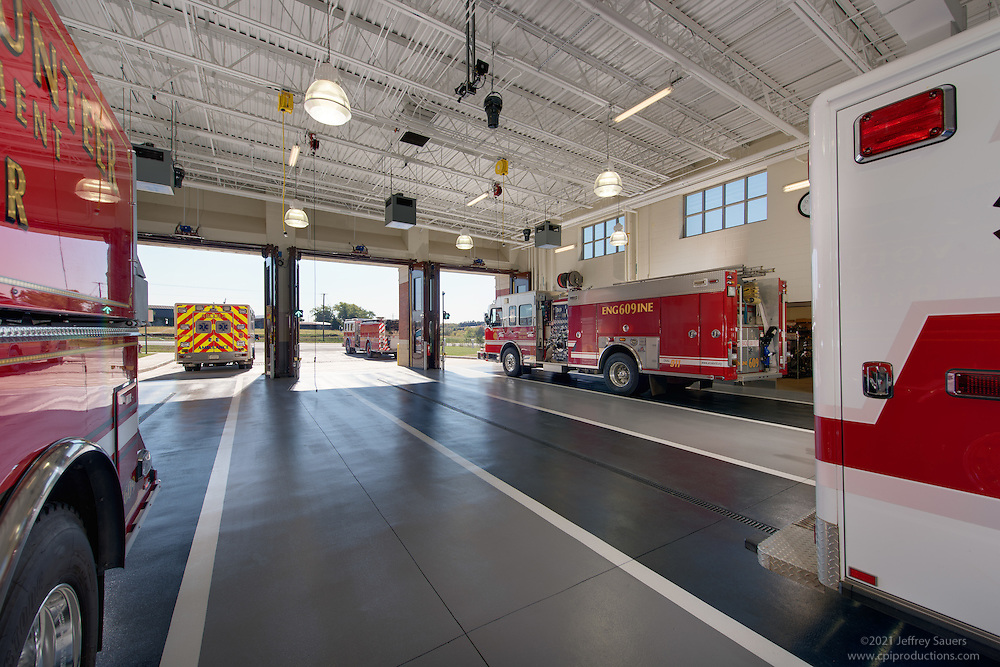 Brambleton Firehouse and Fire Marshall Offices in Loudoun County Virginia by Jeffrey Sauers of Commercial Photographics, Architectural Photo Artistry in Washington DC, Virginia to Florida and PA to New England