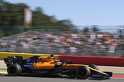 August 30, 2019, Spa Francorchamps, Belgium: McLaren Driver CARLOS SAINZ (ESP) in action during the second free practice session of the Formula one Belgian Grand Prix at the SPA Francorchamps circuit - Belgium (Credit Image: © Pierre Stevenin/ZUMA Wire)