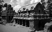 Mamallapuram, or Mahabalipuram, iin the south Indian state of Tamil Nadu. It's known for its temples and monuments built by the Pallava dynasty in the 7th and 8th centuries. The seafront Shore Temple comprises 3 ornate granite shrines.